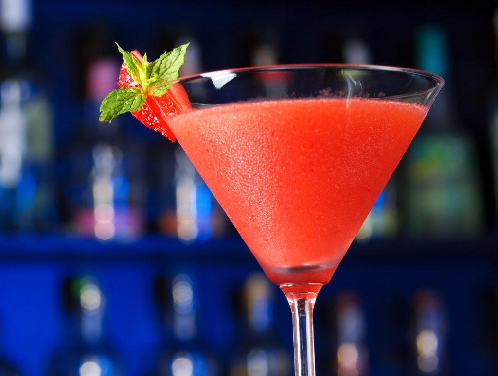 strawberry daiquiri fruit cocktail