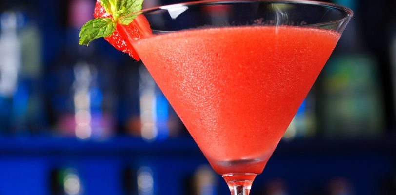 strawberry daiquiri fruit cocktail