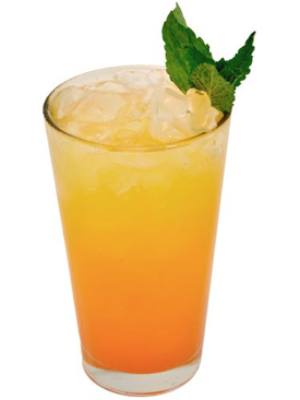 Peach Crush cocktail from Cosmopolitan