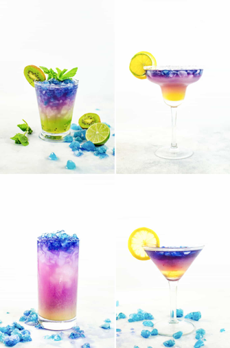 Colourful cocktails from The Flavor Bender