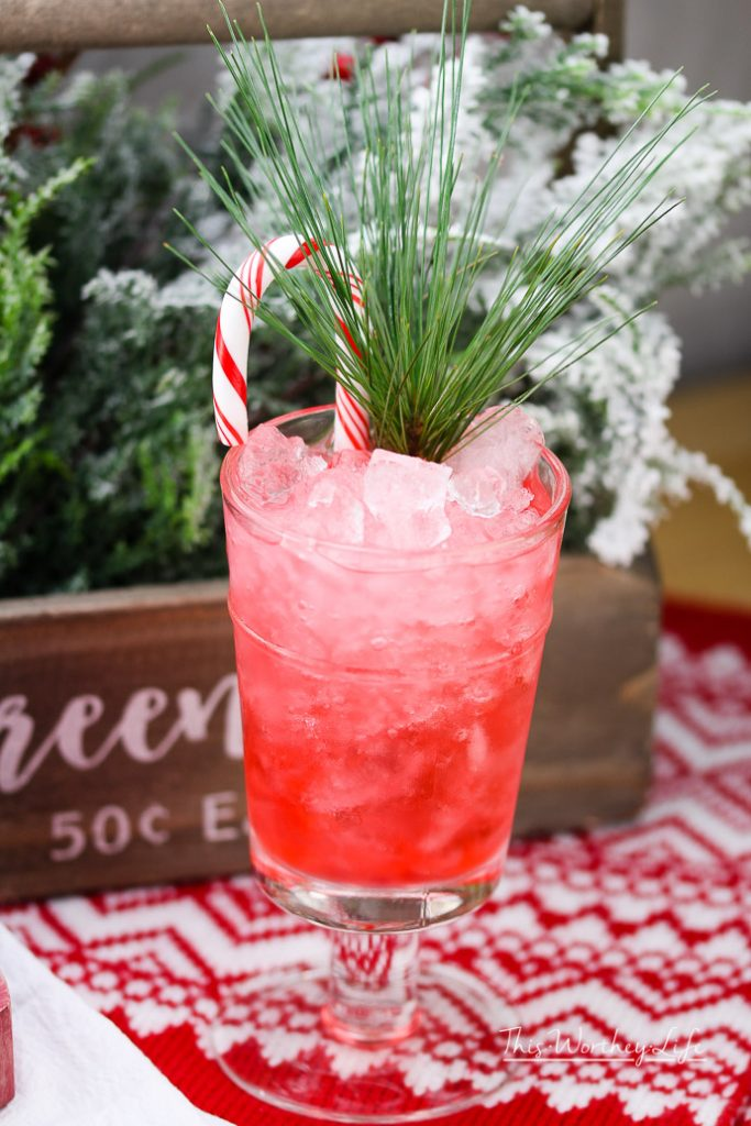 Christmas Peppermint Julep
